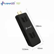 Mini PC Meegopad T07 Win10 with Smart Quiet Fan Cherry Trail Z8300 4GB/32GB Intel Quad-Core HDMI Compute Stick