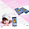 Russian English multifunctional toy mobile phone educational learning electronic toys with Projection smart touch screen phone