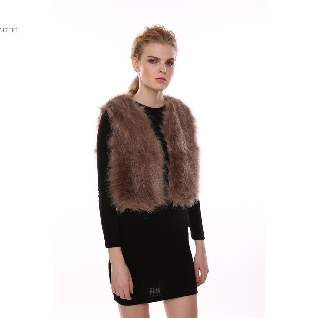During transitional and cooler months, layering pieces are key, and one simple way to add texture and interest to your outfit is to wear a faux-fur vest. Faux fur is affordable, ethical and stylish, and designers offer many elegant options in a range of styles and color palettes.