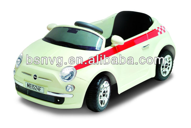 fiat 500 style kids battery ride on car 2014 new buy fiat style kids battery ride on car. Black Bedroom Furniture Sets. Home Design Ideas