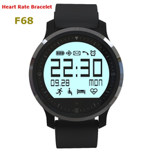 F68 Heart Rate Bracelet for iphone Android Phone Sports Smart Watch IP67 Health Fitness Tracker Call/Message Reminder Wristband