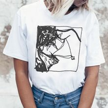 Женская футболка с рисунком Harry Style, летняя уличная одежда в стиле хип-хоп, 90-е годы(China)