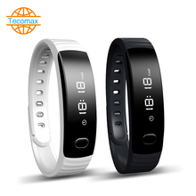 Fashion  smart watch TC080 Heart Rate Monitor Smart Wristband Bracelet For Android &ios Passometer Fitness Tracker anti-lost