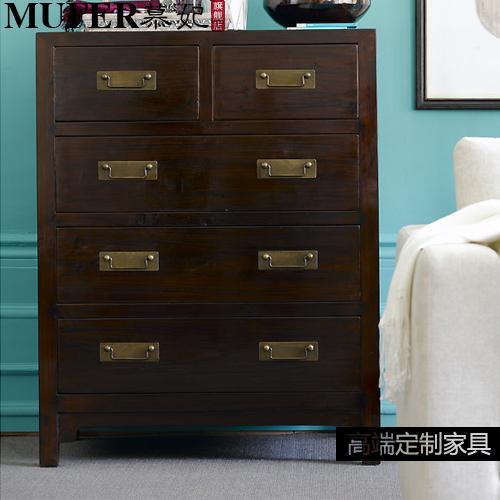 Drawers Custom Living Room Minimalist Modern New Chinese