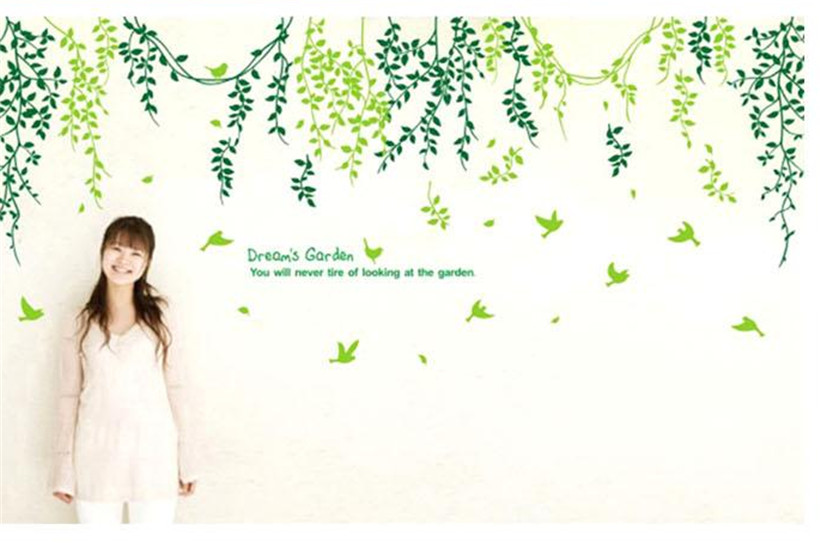 Full House Dream Garden Warm Branches Wall Stickers Removable Wall Stickers Home Decoration