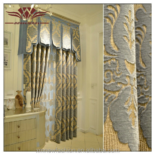 curtain design 2014, denim curtain, curtain turkey-Rideau-ID ...