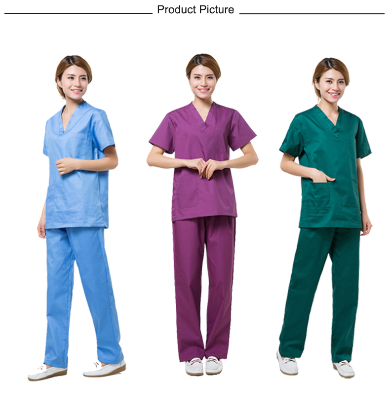 Asian Style Medical Scrubs