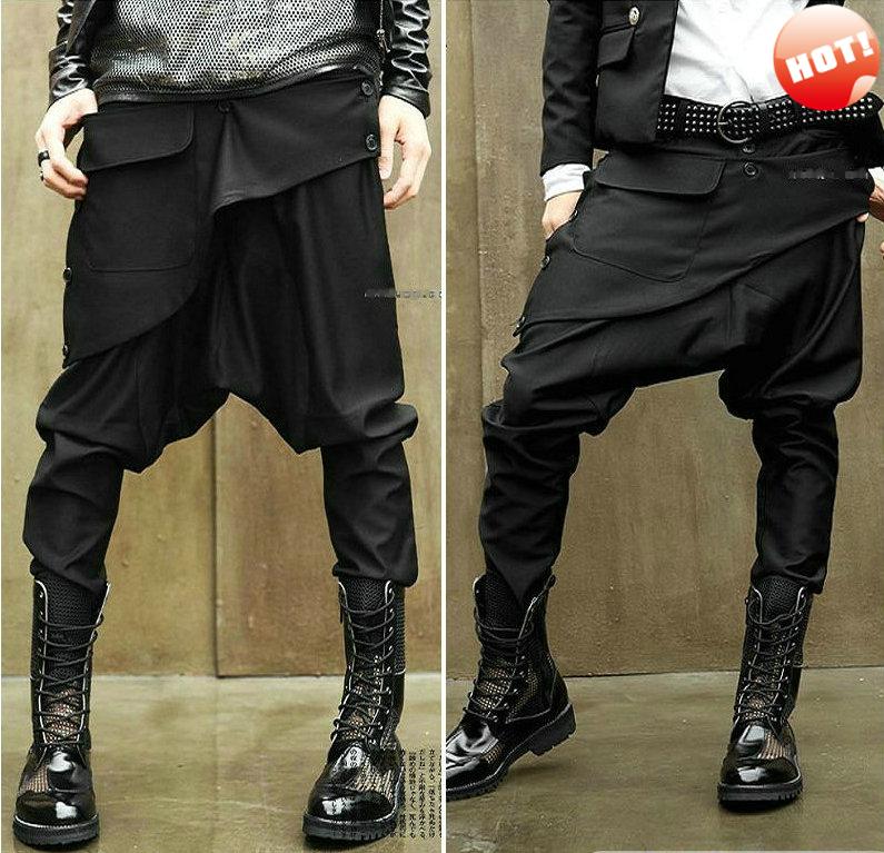 Korean baggy pants men