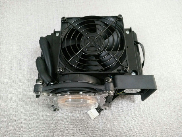 New Original Water cooled heat sink for HP Z420 workstation cooling fan