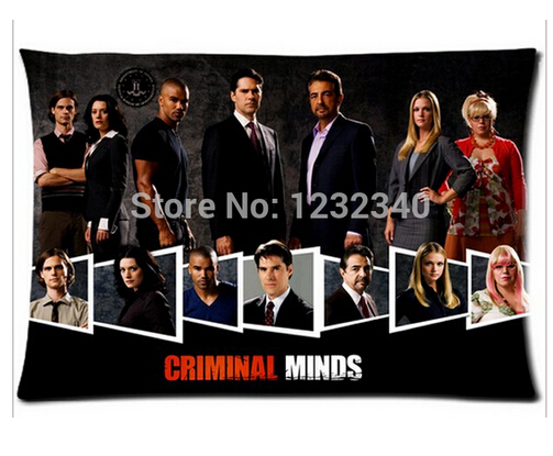"Criminal Minds Pillowcase Covers Standard Size 20""x30""Inch"