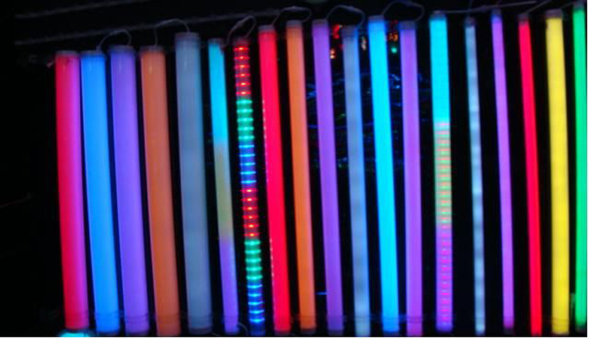Latest Collection Of 6pixel Guardrail Tube Dmx512 Control Led Digital Tube Light/ Display Tube 16pixel Tube Dc12v Led Pixel Light For Building Face Latest Technology Led Bulbs & Tubes Lights & Lighting
