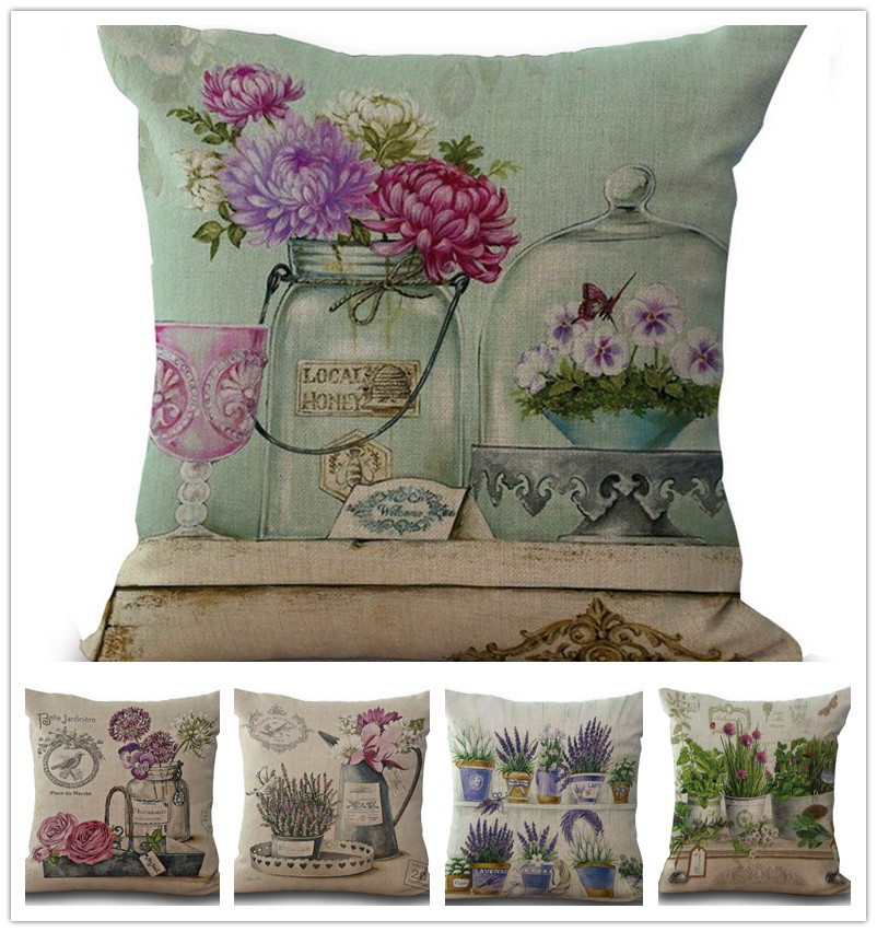 Whole Sale Home Decor: Aliexpress.com : Buy Wholesale Vintage Flowers Pillow