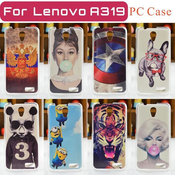 cheap for discount f607d d7888 2015 NEW and HOT 16 Patterns Lenovo A319 Case Cover Lenovo A319 Case Free  Shipping