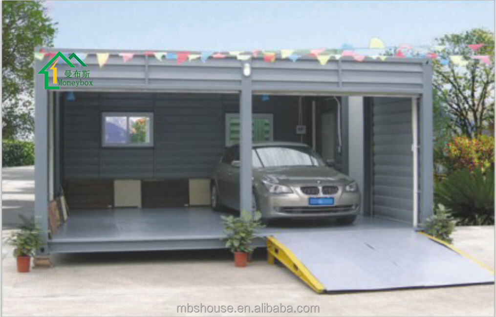 prefab car garage container carport storage container in cheap price buy portable storage. Black Bedroom Furniture Sets. Home Design Ideas