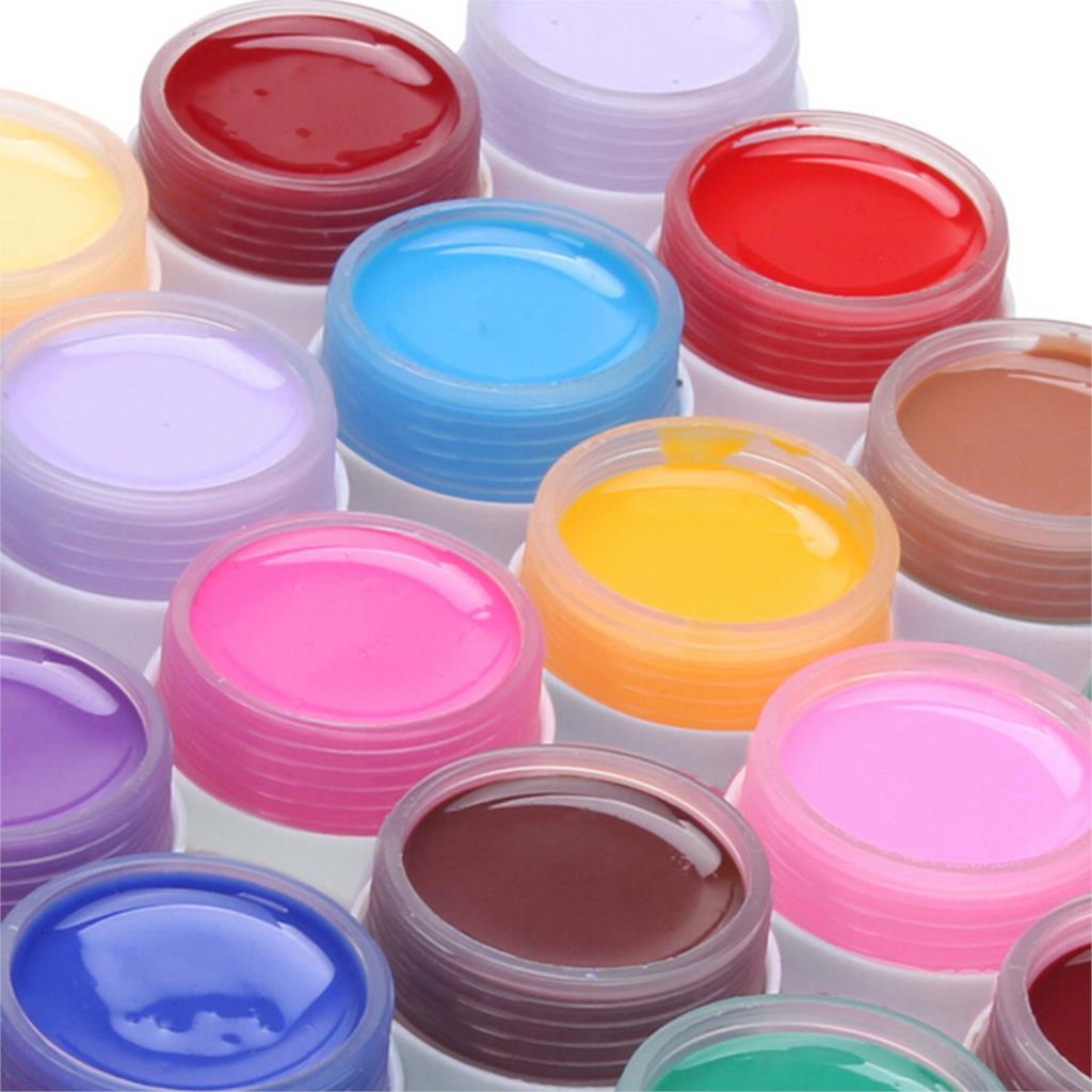 2016 New Fashion Pure Colors Gel Nail Polish UV Nail Art DIY Decoration for Nail Manicure