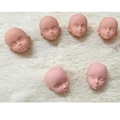 2pcs lot Soft Plastic Practice Makeup Doll Heads For Barbie Doll For 1 6 Kurhn BJD