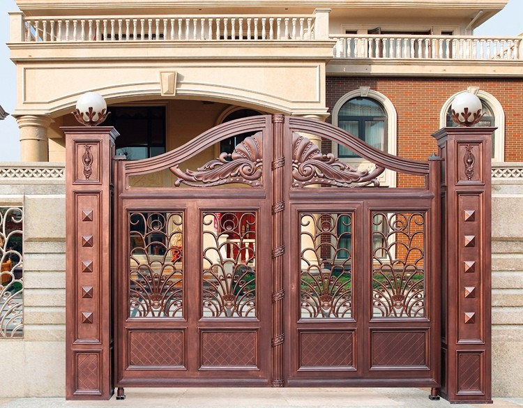 puertas de aluminio fundido para house diseos de puertas de entrada