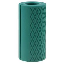 Толстые ручки для гантели, 1 шт., поддержка тяжелой атлетики, силиконовая противоскользящая защитная накладка для бодибилдинга(Китай)