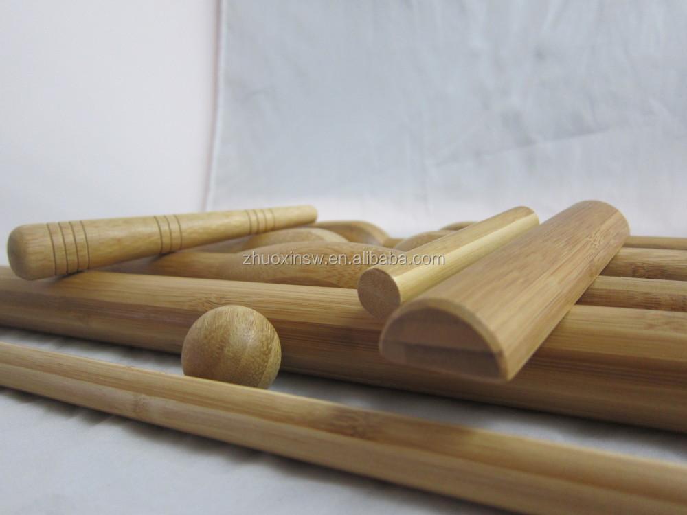soins de sant de massage b ton de bambou pour spa. Black Bedroom Furniture Sets. Home Design Ideas