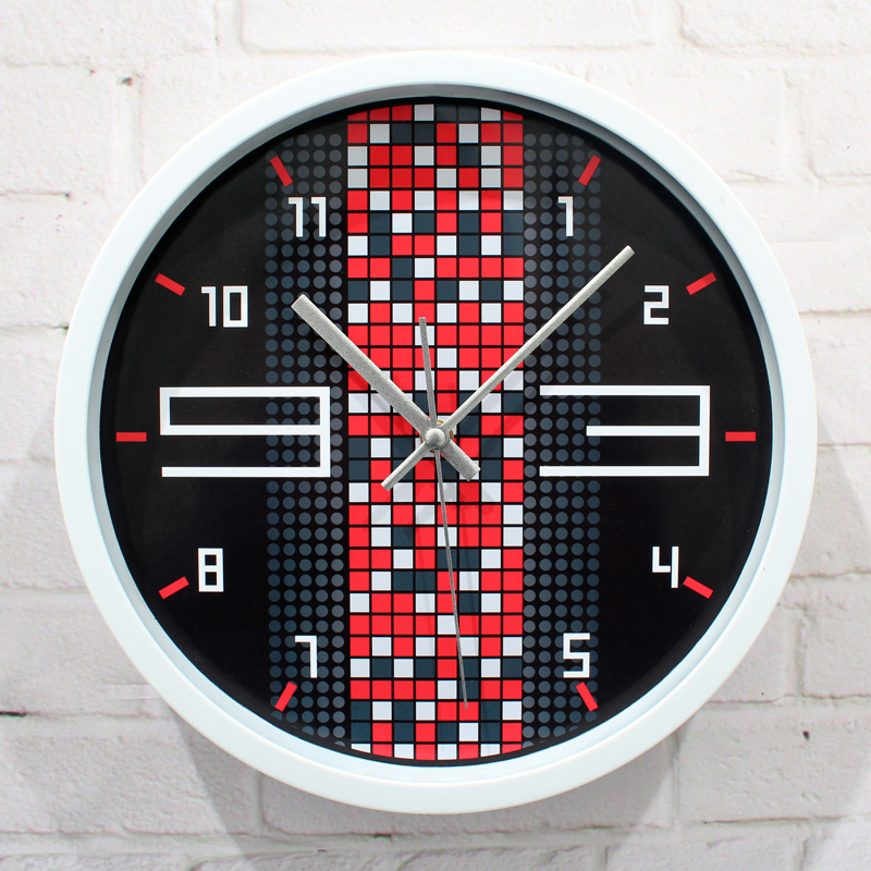 Quartz wall clock,Matrix maze mute watch,minimalist fashion creative wall clock,high quality creative home decor free shipping