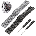 New Sports Safety Stainless Steel Wristband Replacement Wrist Support Band Strap with Tools for Garmin Fenix