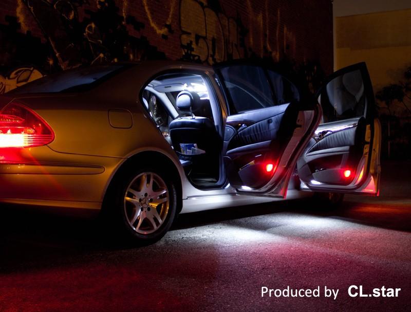 27pcs Error Free Led Bulb Interior Light Kit For Mercedes