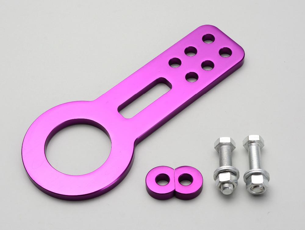 Фиолетовый анодированный алюминий заготовки бампер высокая прочность гонки фаркоп комплект