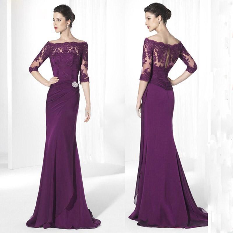Purple Mother Of The Bride Dresses: 2016 Purple Mother Of The Bride Dresses For Wedding Cheap