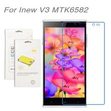 For Inew V3 MTK6582,3pcs/lot High Clear LCD Screen Protector Film Screen Protective Film Screen Guard For Inew V3 MTK6582
