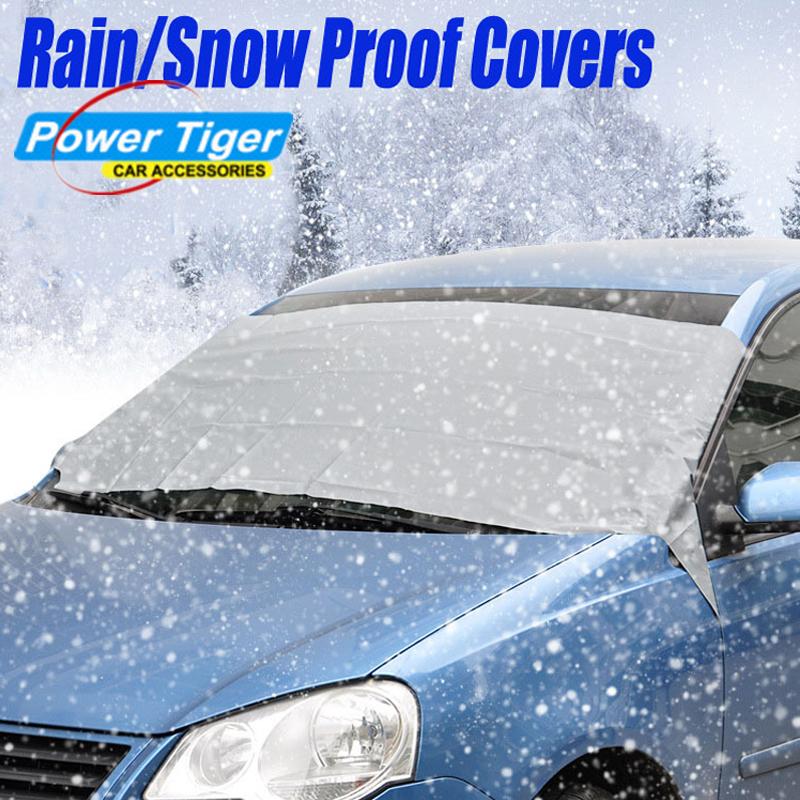 buy car windshield sun shade micro fiber winter car snow shield cover auto. Black Bedroom Furniture Sets. Home Design Ideas