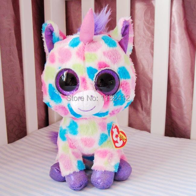 Wholesale Ty Beanie Boos Wishful Unicorn Plush Animals 6 10