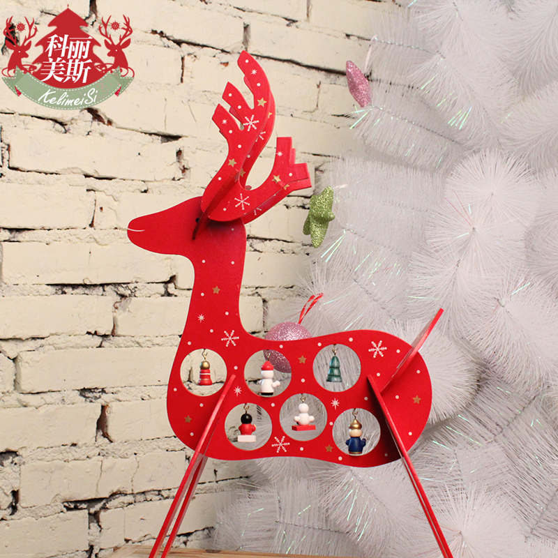 2015 New Arrival Creative Christmas Decoration Christmas Gift Wood Christmas Home Decoration