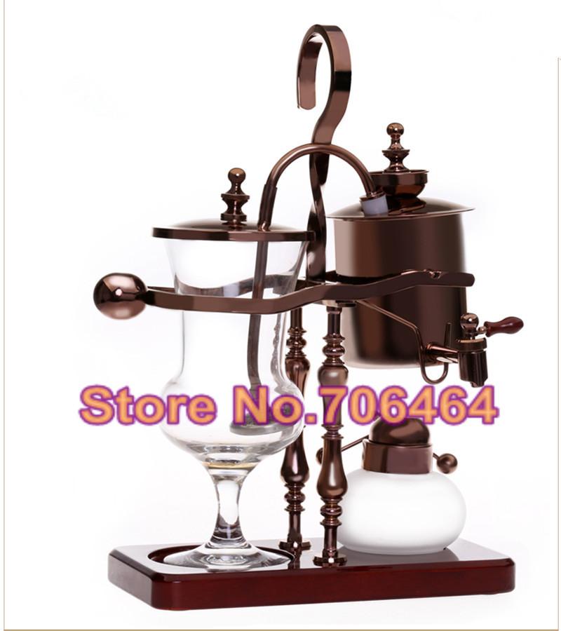 Freeshipping-Luxury-rose-gold-Royal-balancing-siphon