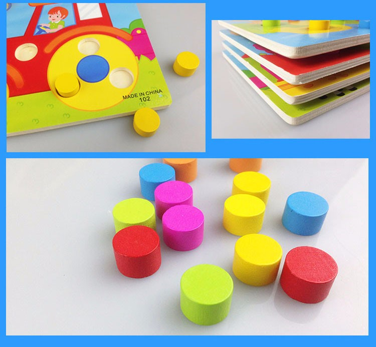 Home Sincere Montessori Toys Educational Wooden Toys For Children Early Learning Exercise Kids Brain Intelligence 3d Cartoon Match Teaching Choice Materials