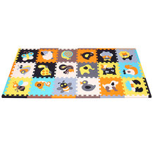 MEIQICOOL развивающий детский игровой коврик-пазл, экологичный нетоксичный коврик для ползания, детский коврик из пены для тренажерного зала, Д...(Китай)