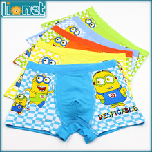 5 Piece/lot Kids Boys Underwear Despicable Me/Minions Panties Children's Pants Modal Baby Boxer Underpants Briefs Underware