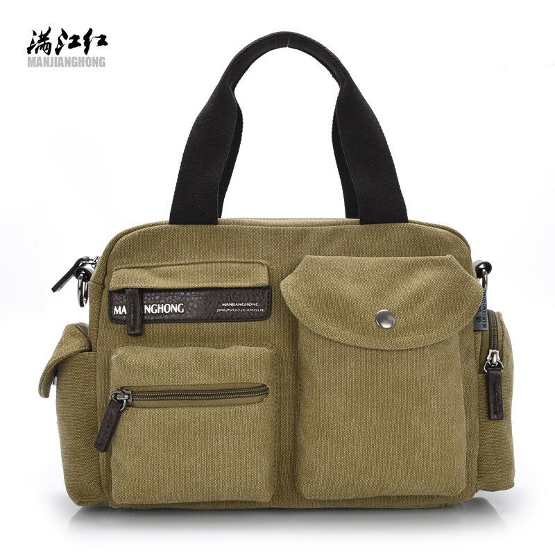 Ретро Cavas сумка-мессенджер, Школа плечо, Путешествия мешок, Женщины и человек мешок 4 цвета, Ship1213 #