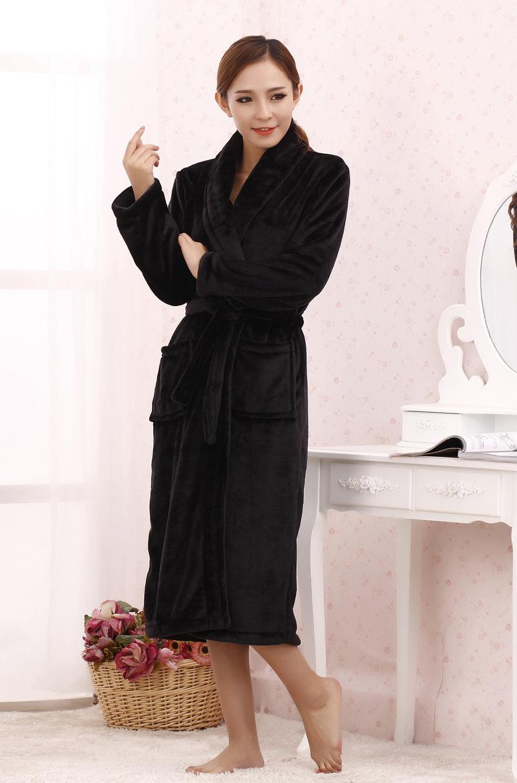 robe Femme De Soie Robe Flanelle Chambre rBoEWdeQCx