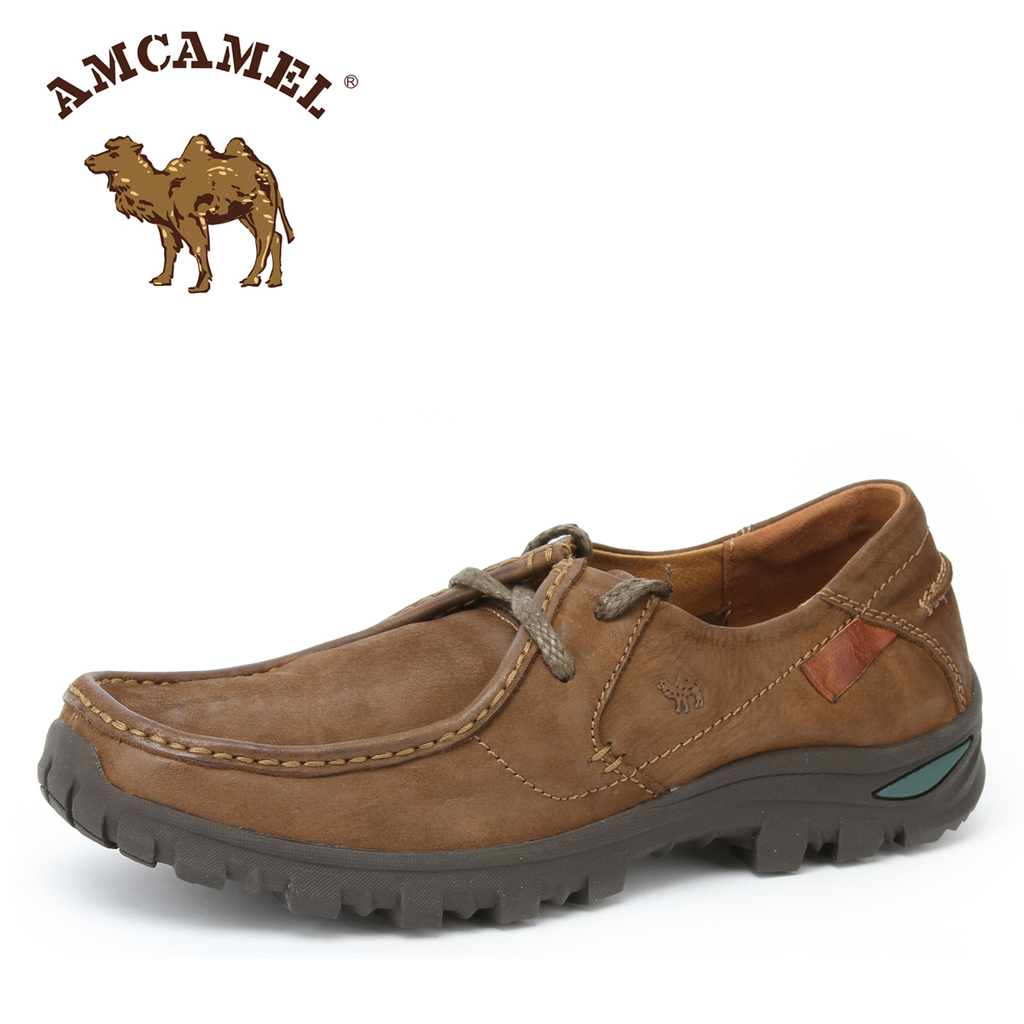 Бесплатная доставка Amcamel верблюд мужская свободного покроя мужской обуви тенденция кожаные ботинки h3070262