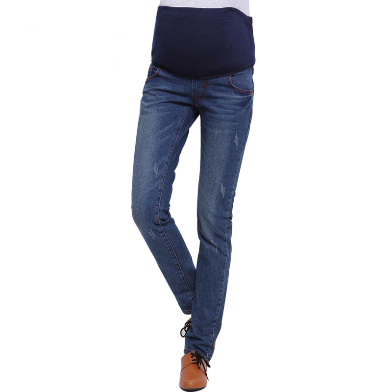 Summer jean trousers maternity women for pregnant clothing hot sale 2015