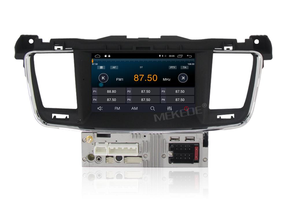 7 android 7 1 car dvd stereo for peugeot 508 2011 2012. Black Bedroom Furniture Sets. Home Design Ideas
