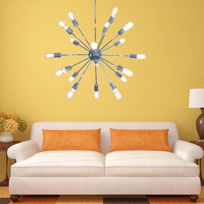 Stylecraft Barclay Brass 3 Piece Living Room Accent Table: Popular Sputnik Lamp-Buy Cheap Sputnik Lamp Lots From