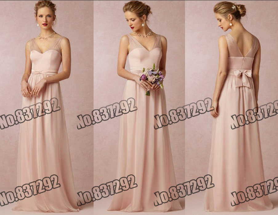 Pink Bridesmaid Dresses Under 100