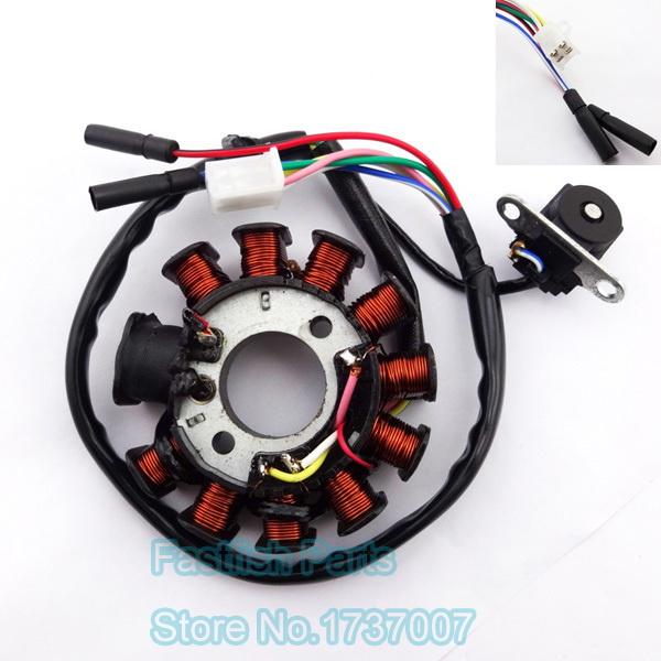 gy6 8 pole stator wiring