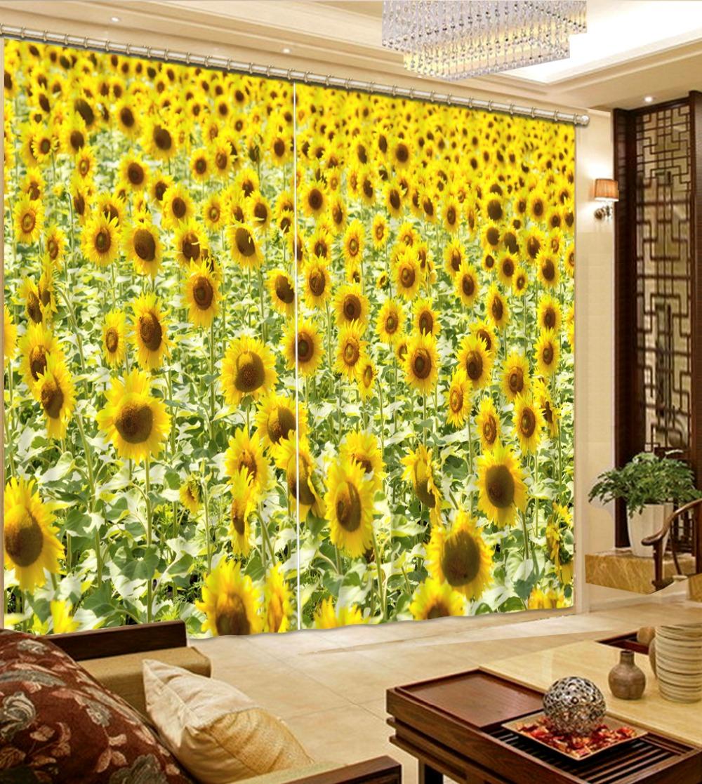 Popular Sunflower Curtains-Buy Cheap Sunflower Curtains