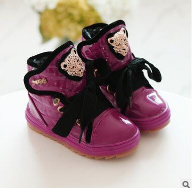2016 new children s winter warm shoes children slip waterproof kids boots fashion snow boots children
