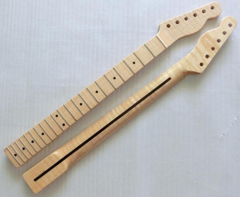 21 fret tiger flame material maple electric guitar neck wholesale guitar parts guitarra musical. Black Bedroom Furniture Sets. Home Design Ideas