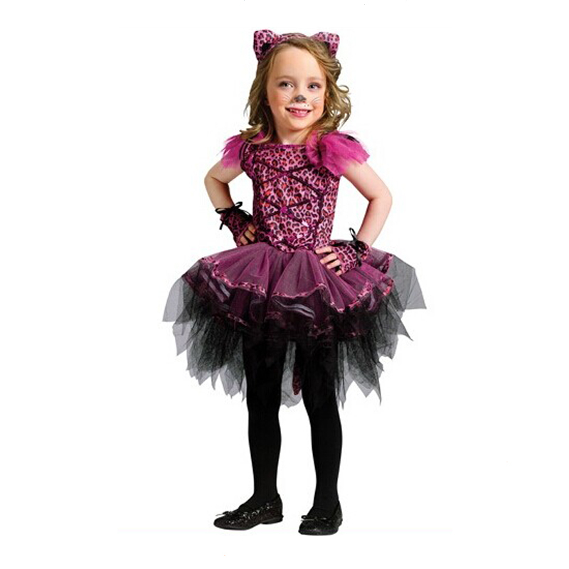 6036c7a787f3 Cat costume little girl