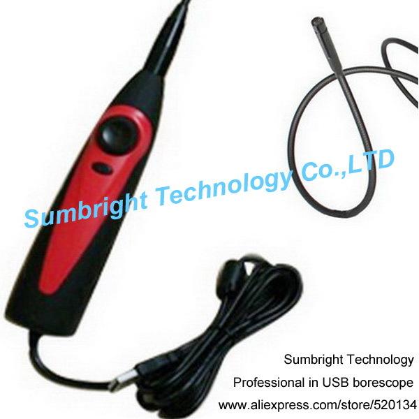 Sb-ie98as-8.5mm IP67 бороскоп эндоскопа инспекционной змея пробки камеры HD автомобиль мини USB двигателя диагностический инструмент