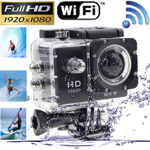 2016 SJ4000 WIFI 1080P Waterproof 30M Sport Action Camera Wireless Camcorder Silver/Black Original